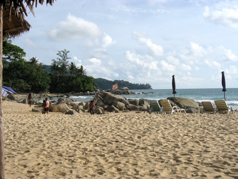 Laem Singh Beach-Idylle