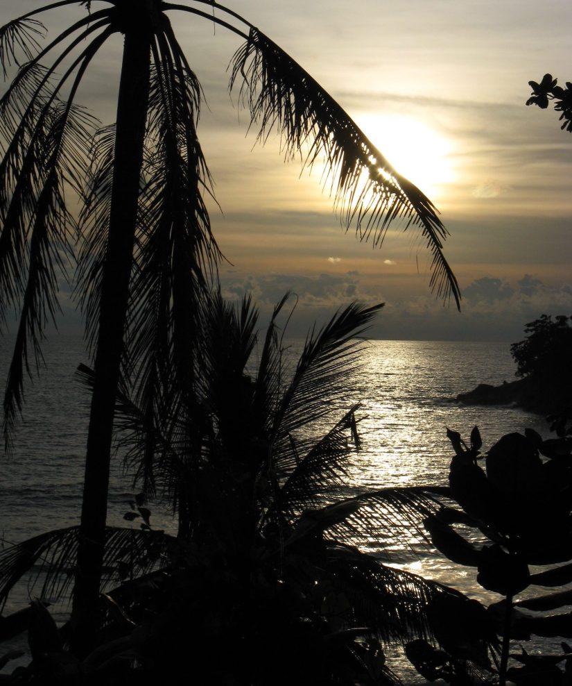 Sunset Laem Singh Beach